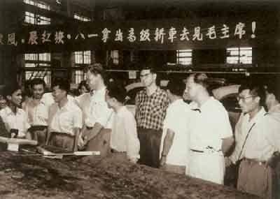 中国第一辆红旗轿车什么时候诞生高清图片