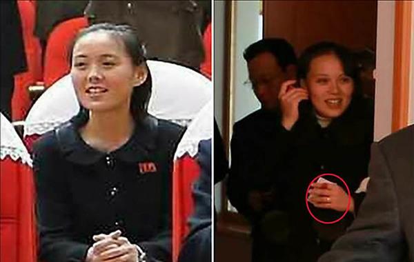 """【环球时报驻韩国特约记者张涛】一则""""朝鲜最高领导人金正恩的妹妹图片"""