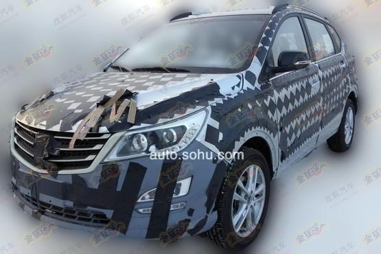 寶駿首款SUV最新諜照曝光 配1.8L AMT高清圖片